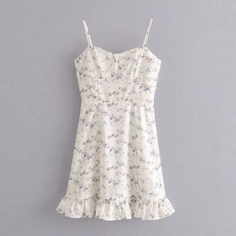 Spring fashion small floral strap dress wholesale NHAM198477's discount tags