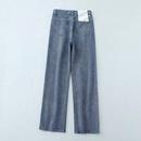 Wholesale Fashion Twill High Waist Women39s Denim Wide Leg Pants NHAM198488