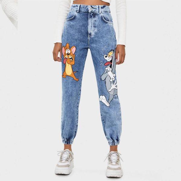 Wholesale Spring Casual Jogging Women's Jeans NHAM198505