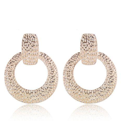 Earrings Fashion Metal Geometric Shaped Stud Earrings NHSC199104's discount tags