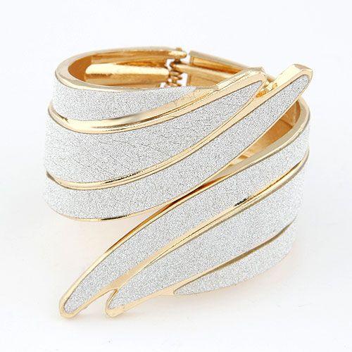 Fashion bracelets punk metal exaggerated angel wings temperament bracelet NHSC199100