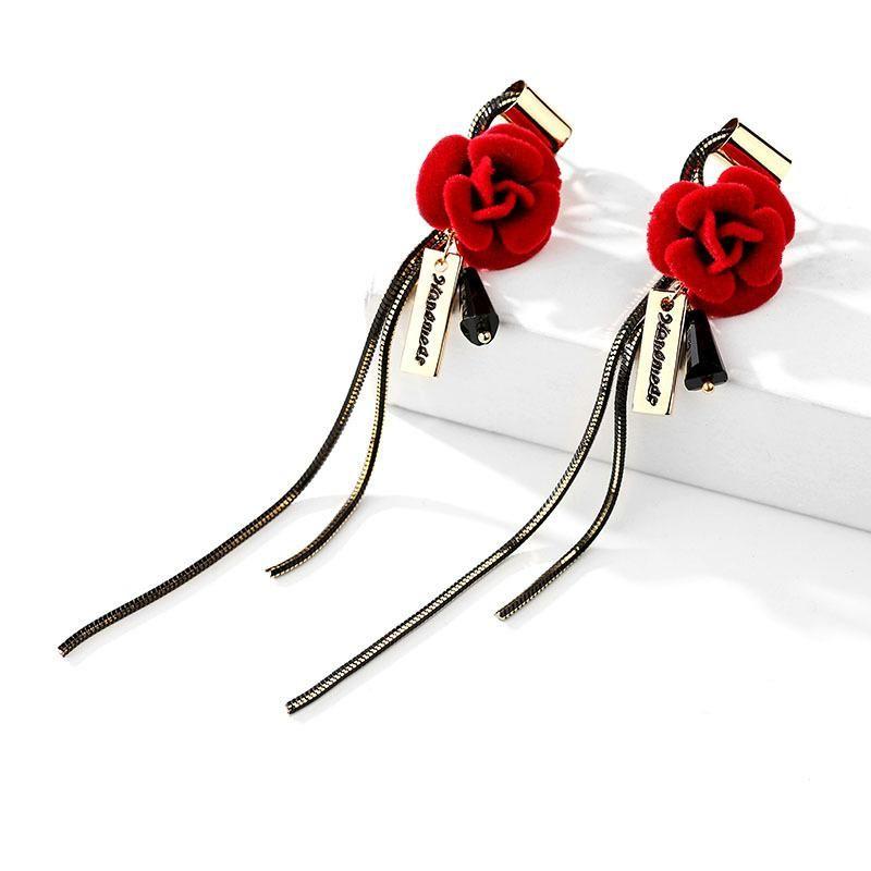 925 silver pin long earrings wild high-end earrings women wholesales fashion NHPP198630