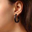 925 silver pin temperament simple round circle atmosphere elegant earrings NHPP198672