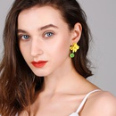 925 silver pin sweet fashion earrings exaggerated flowers earrings long simple earrings wholesales fashion NHPP198677