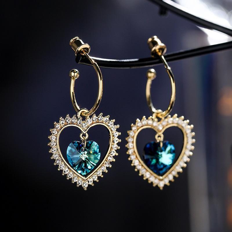 925 silver needle love fashion new wild earrings women wholesales fashion NHPP198692