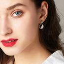 925 silver needle wild atmospheric crown elegant earrings women NHPP198715