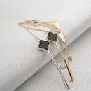 New personality wild diamond Clover bracelet fashion jewelry custom wholesale NHLJ198735