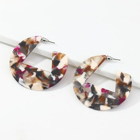 New fashion geometric acrylic acetate plate earrings for women NHNZ198772's discount tags