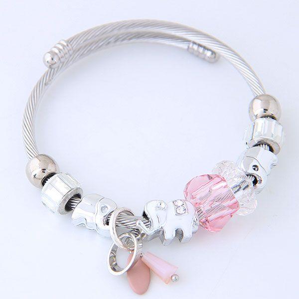 Fashion bracelets metal wild simple multi-element accessories personalized bracelet NHSC199090