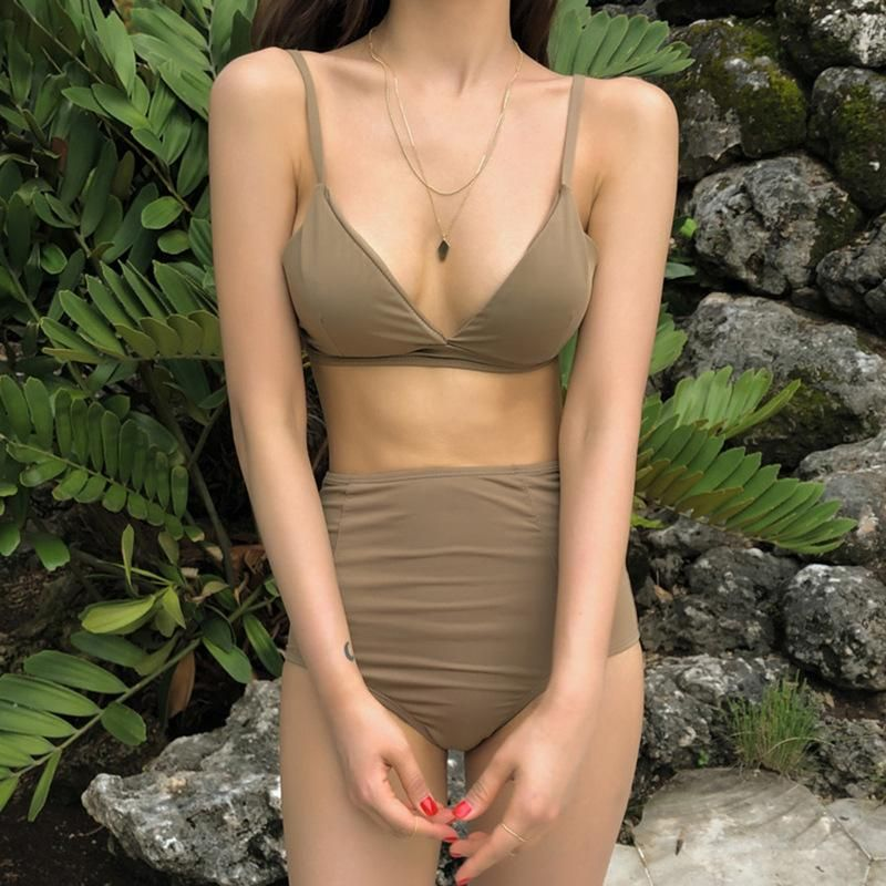 Fashion swimwear wholesale new sexy fashion split bikini bikini NHHL198781