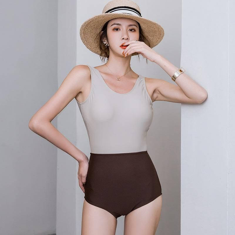 Fashion swimwear wholesale new fashion sexy one-piece triangle swimsuit NHHL198793