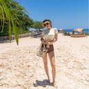New female split high waist conservative thin belly cover student hot spring swimsuit NHHL198839