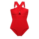 New conjoined triangle small chest sweet cover belly was thin hot spring swimsuit women NHHL198867