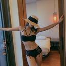 New female split steel bra side strap sexy beach bikini swimsuit NHHL198890