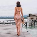 New pink sexy underwire strap high waist bikini threepiece swimsuit women NHHL198898