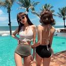 Fashion swimwear wholesale new female split bikini sexy knitted swimwear NHHL198920