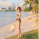 Fashion womens bikinis wholesale new female split bikini sexy high waist underwire swimwear NHHL198945