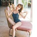 New fashion sexy onepiece swimwear wholesale fashion women39s swimwear NHHL198946