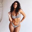 Fashion leopard print underwire bikini sexy swimsuit bikini NHHL199001