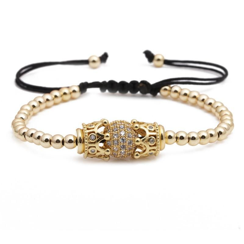 Fashion bracelets 10mm zircon diamond ball bracelet NHYL199052