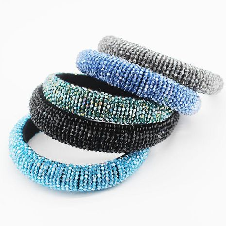 New Crystal Beads Multicolor Wild Personality Street Shooting Travel Hoop NHWJ199076's discount tags