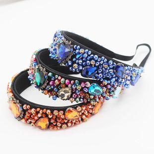 Nuevos abalorios de cristal barroco de Europa y América en forma de corazón de lujo Show Show Hoop NHWJ199080's discount tags
