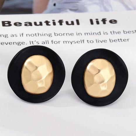 Retro fashion geometric round earrings irregular alloy earrings earrings women NHNZ199121's discount tags