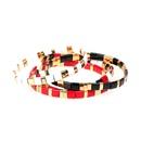 Fashion bracelets new paint candy contrast handwoven elastic bracelet NHPY199140
