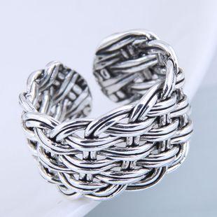Anillo de moda al por mayor de punto vintage exagerado anillo abierto NHSC199718's discount tags