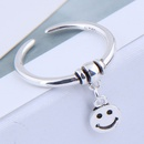 Fashion ring wholesale smiley open ring NHSC199717