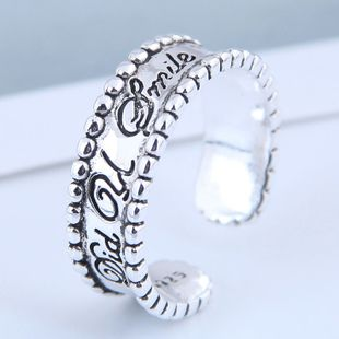 Exquisito anillo de moda al por mayor Anillo abierto de la vendimia NHSC199714's discount tags