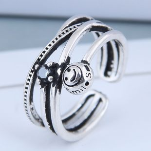 Exquisito anillo de moda al por mayor Anillo abierto de la vendimia NHSC199710's discount tags
