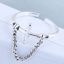 Exquisite ring wholesale fashion vintage cross open ring NHSC199709