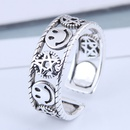 Exquisite Fashion Ring Wholesale Retro Smiley Open Ring NHSC199701