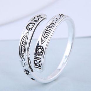 Exquisito anillo de moda al por mayor Vintage Tropical Fish Open Ring NHSC199708's discount tags