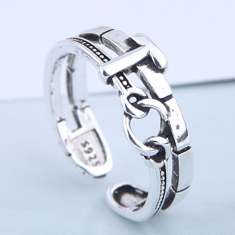 Exquisite Fashion Ring Wholesale Vintage Open Ring NHSC199696
