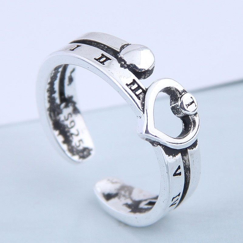 Exquisite fashion vintage love open ring NHSC199695