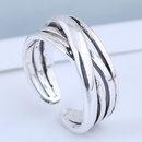 Exquisite fashion vintage knit personality open ring wholesales  NHSC199692