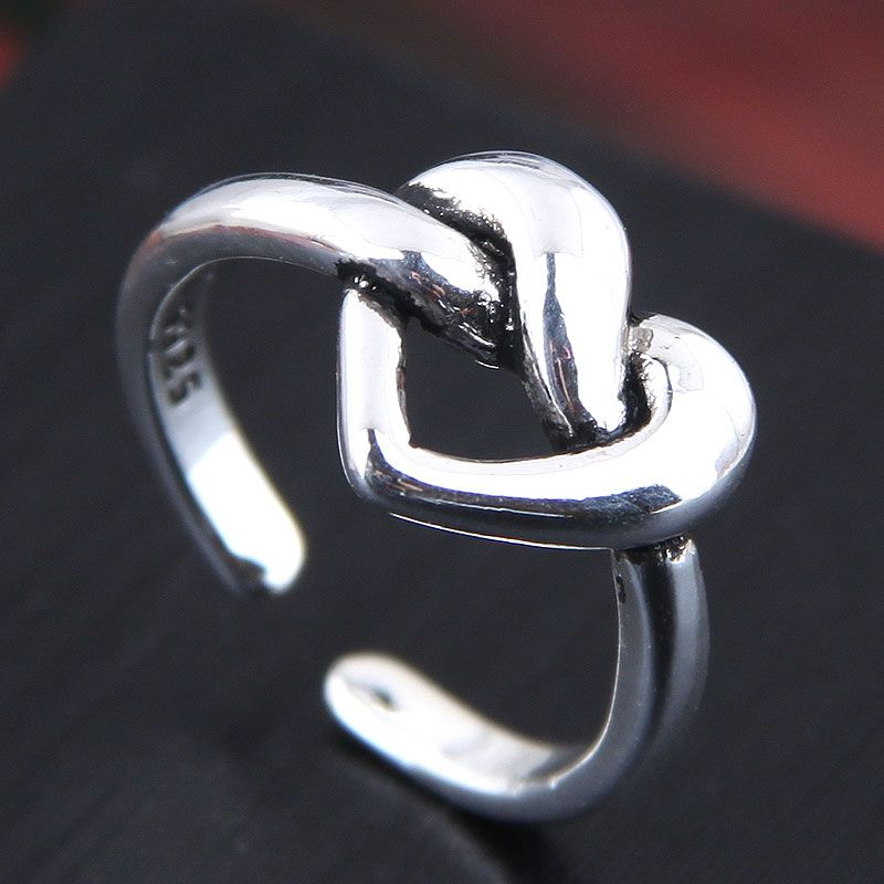 Exquisite fashion vintage love open ring NHSC199684