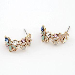 Pendientes de botón de baile de mariposa dulce de moda coreana boutique NHSC199678's discount tags