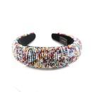 New fashion colorful crystal beads gorgeous sponge headband prom show hair accessories NHWJ195972
