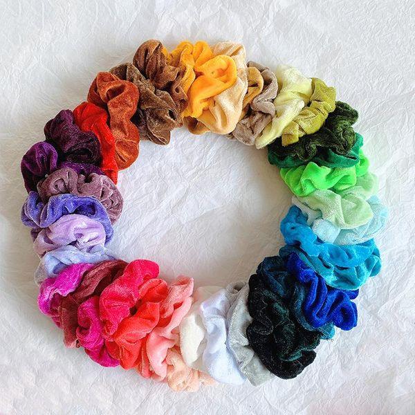 Velvet bowel fashion velvet hair ring wholesale NHOF196027