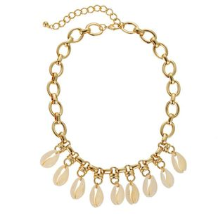 Jewelry Hot Sale Alloy Chain Shell Pendant Bohemia Necklace NHZU196054's discount tags