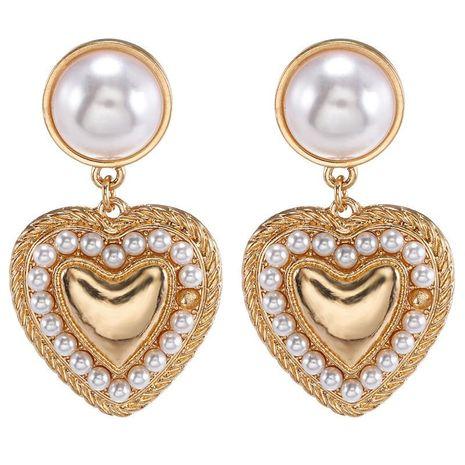Jewelry Korean cute size pearl alloy trend earring jewelry NHZU196073's discount tags