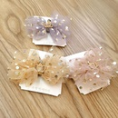 Childrens hair accessories Princess crown hairpin baby bow hairpin girl side bangs clip girl headdress NHSA201154