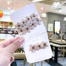 New fashion Korean cute girl side clip top clip bangs clip flower word clip card wholesale NHSA201155