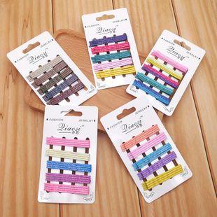 Nueva chica de Corea del Sur flash en polvo color horquilla clip de palabra horquilla accesorios para el cabello salvaje NHSA201173's discount tags