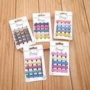 South Koreas new girl flash powder color hairpin word clip hairpin wild hair accessories NHSA201173