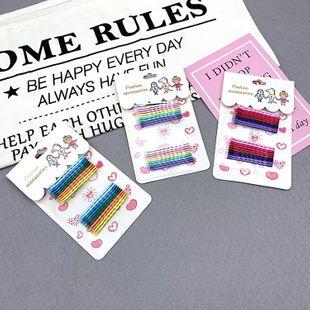 Color coreano horquilla palabra clip chica horquilla caramelo color borde clip tocado NHSA201178's discount tags