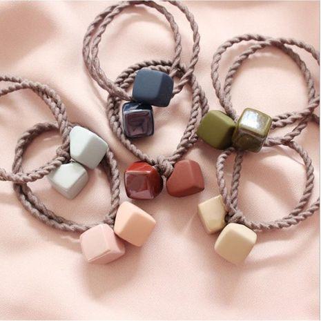Mode Fille simple cravate cheveux bande de caoutchouc carré cheveux anneau tête corde coiffe cheveux adulte corde NHSA201193's discount tags